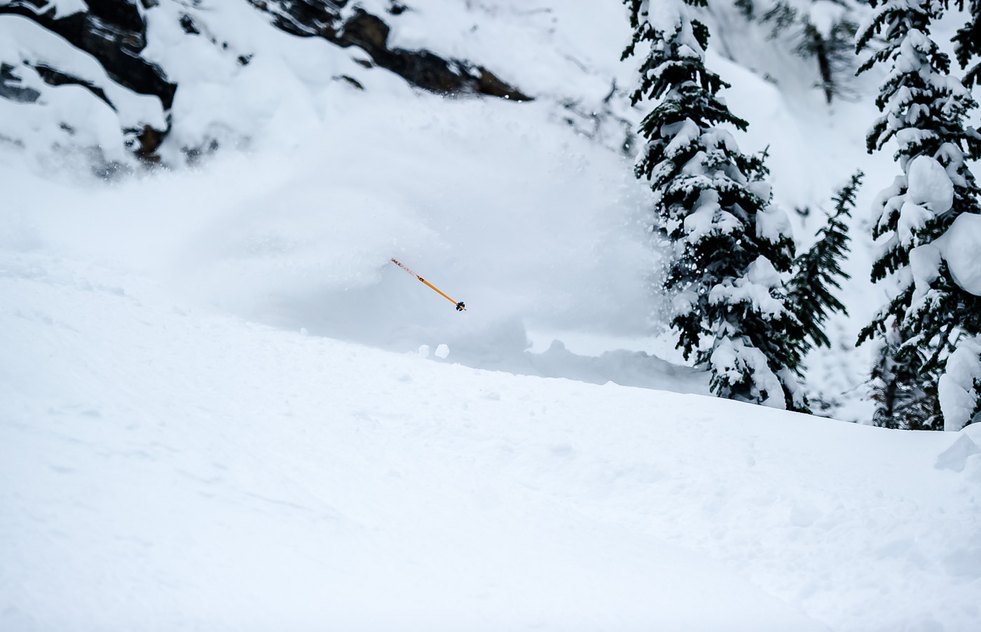 Deep Snow In Revelstoke photo by B. Long