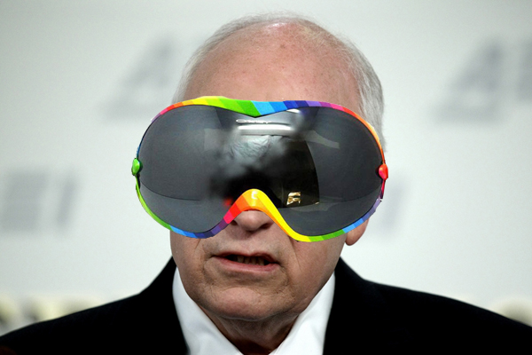 Dick cheney sunglass picture