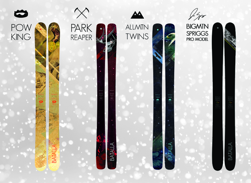 The 2014 Batalla Skis Line-up