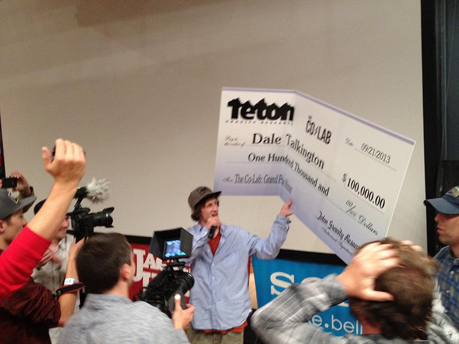 Dale Talkington Wins TGR's 2013 Co-Lab and Snags $100K