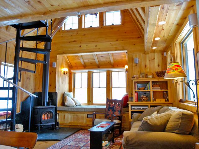 Dream Vt Ski Cabin Becomes Reality Base Camp Teton