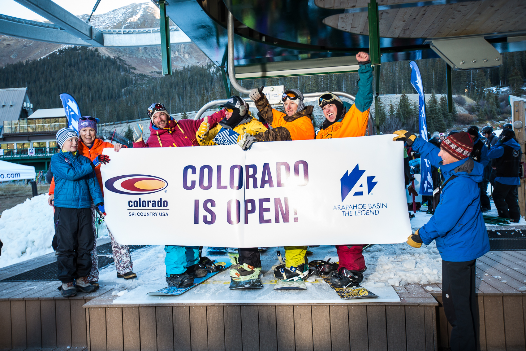 7 Things You See at A-Basin on Opening Weekend | Teton Gravity Research