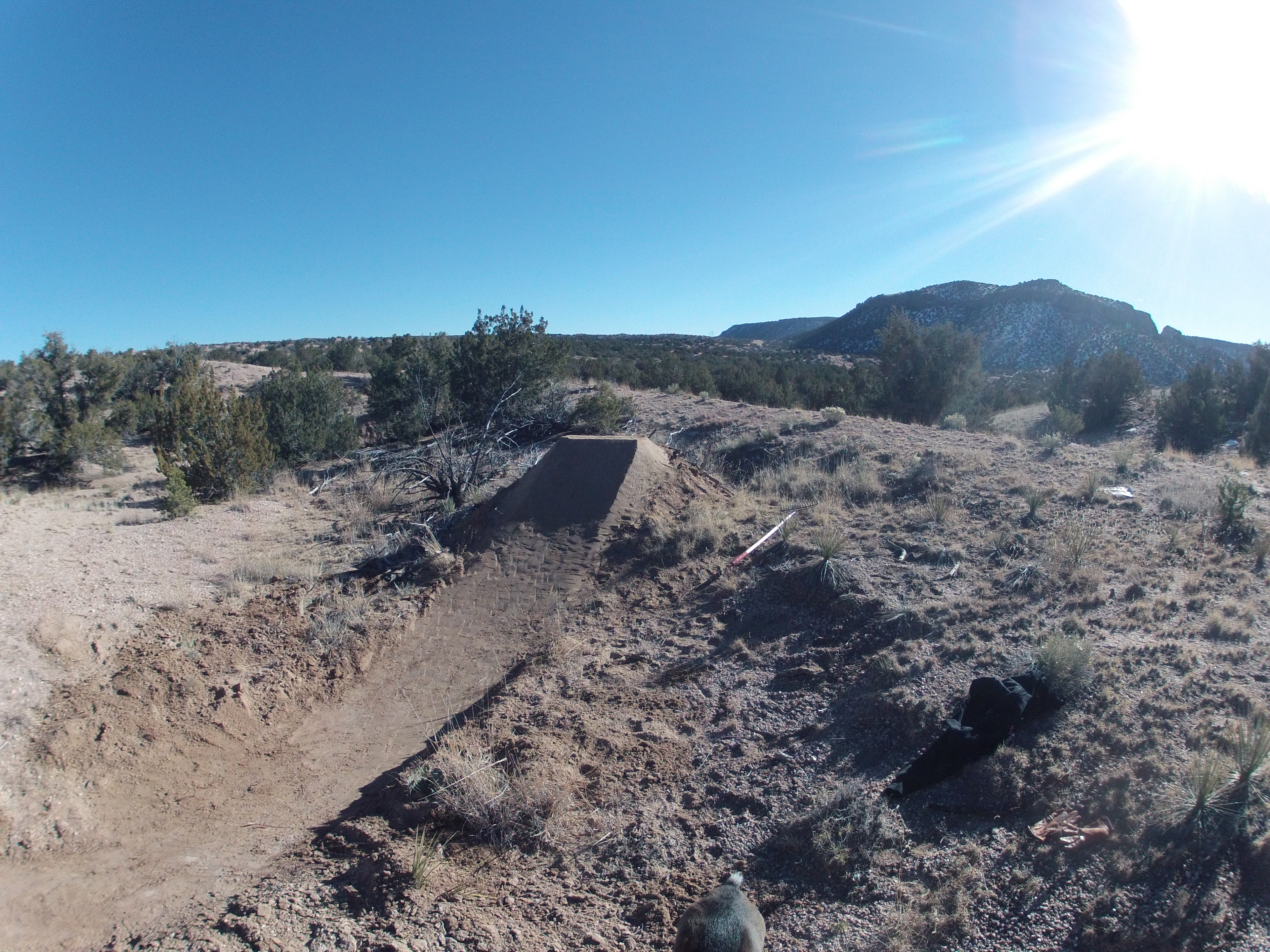 Bike university how to build a dirt jump 101 teton for What is dirt made out of