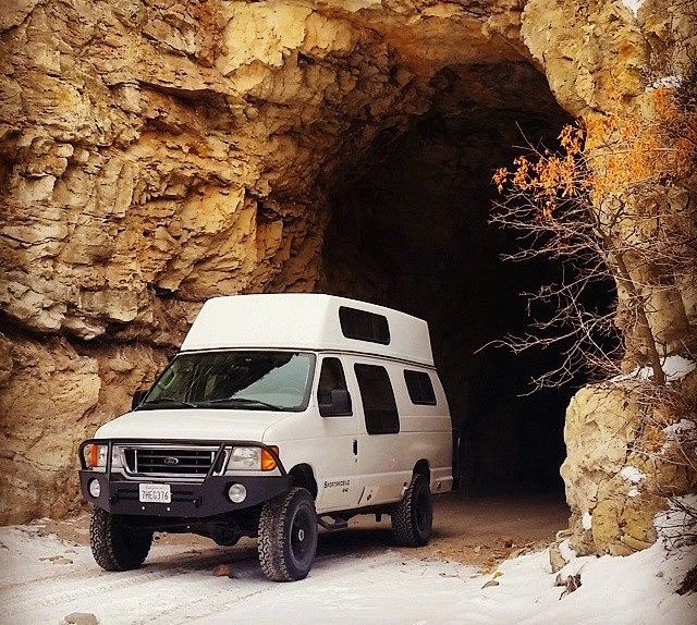 Matts New Company Into The Wild Expedition Rentals Allows Folks To Live Van Life From Comfort Of This Kitted Out Badass Sportsmobile