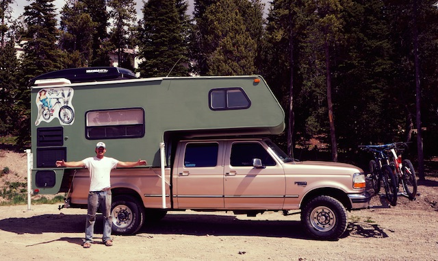 After Living In An RV For The First Year Matt Switched Gears To A Hardside Trucktop Camper Reichel Photo