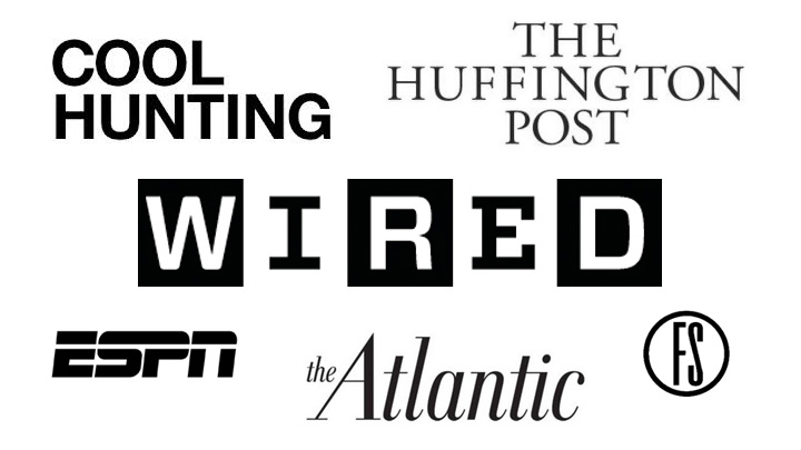Wired, ESPN, Cool Hunting, Huffington Post Feature TGR™\'s GSS C520 ...